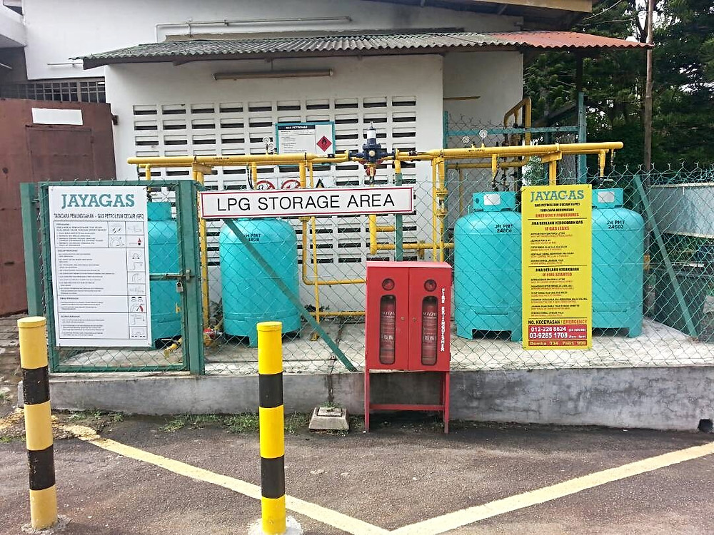 LPG liquified petroleum gas store at gas farm in malaysia what is lpg