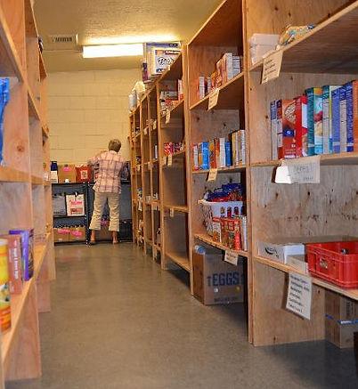 Eagle Foodbank shelves.jpg
