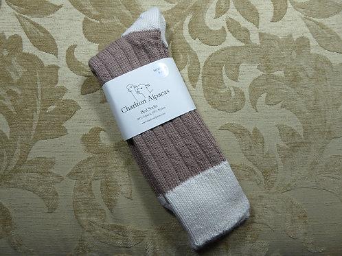 Honey/Natural Bed Socks