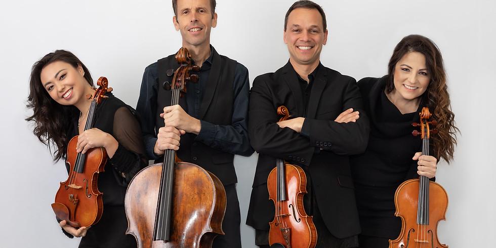 """Carpe Diem String Quartet: From the Sands of Persia to Montana """"Newgrass"""""""