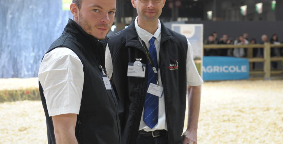 Antoine Huvelin (à gauche) et Jérôme Auclert (à droite)
