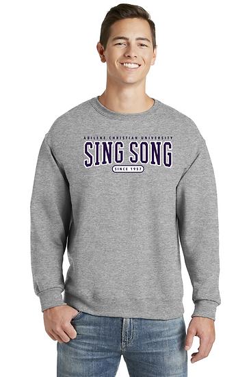 SING SONG APPLIQUE SWEATSHIRT