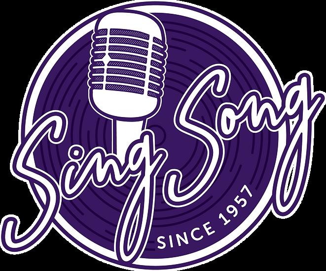 SING SONG VINYL STICKER