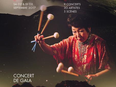 Tak-Nara celebra el 80 aniversario de Keiko Abe en Lausana, Suiza.
