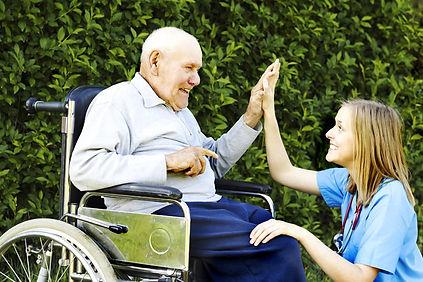 Догляд за інвалідами