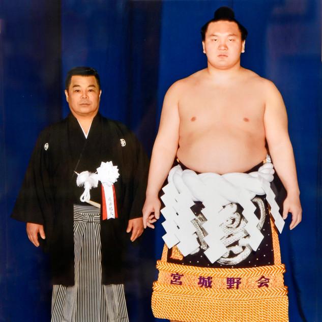 白鵬氏と遠藤紀夫