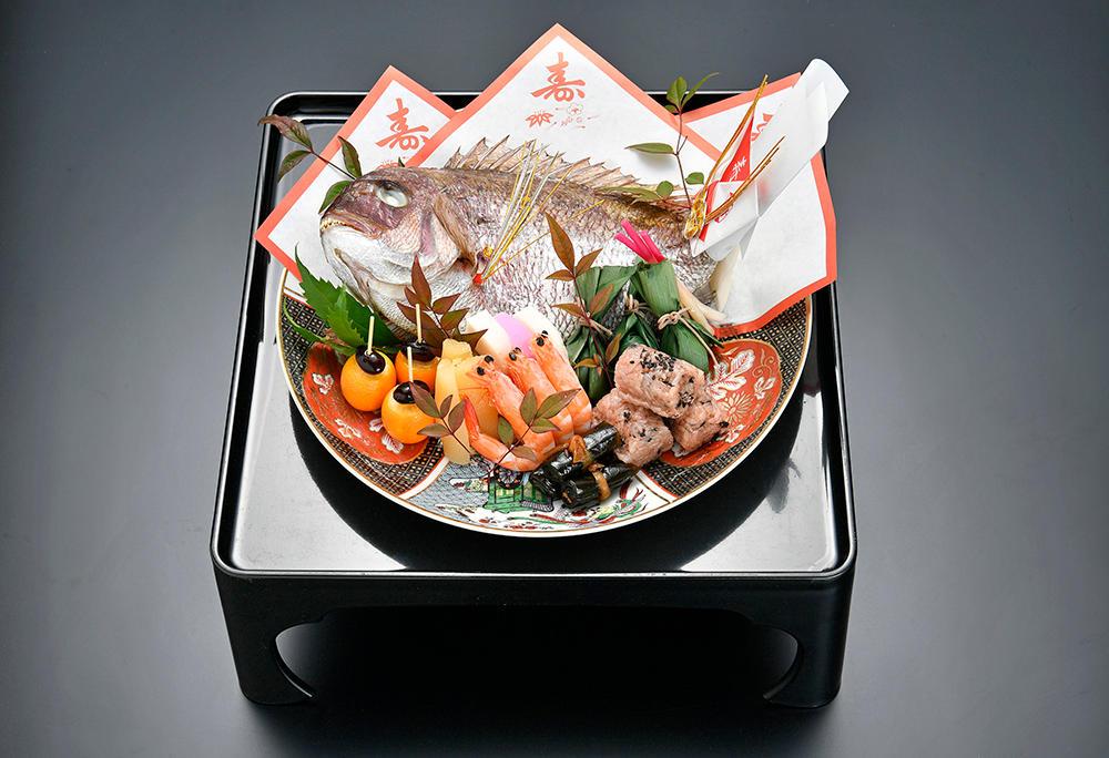 祝焼鯛 3,000円