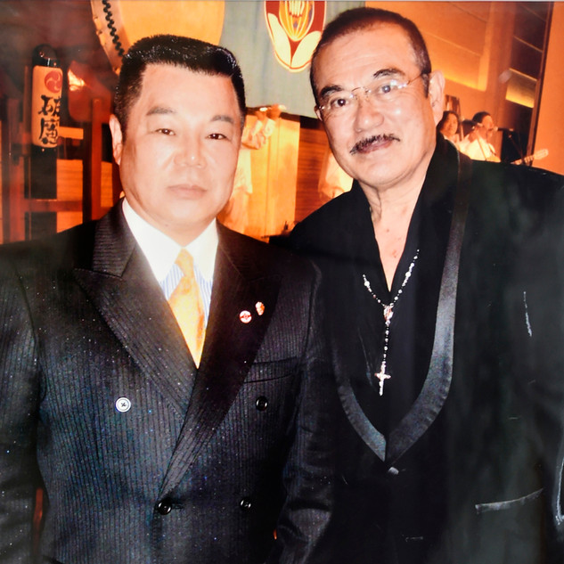 千葉真一氏と遠藤紀夫