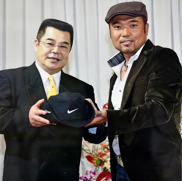 片山晋呉氏と遠藤紀夫