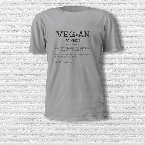 Men's (Unisex) Vegan Dictionary T-shirt