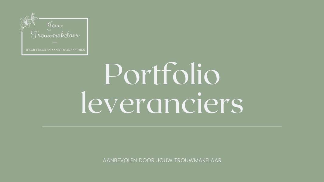 Portfolio leveranciers