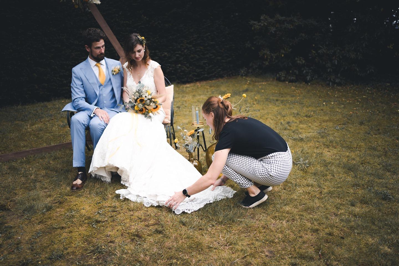 Trouwjurk bruid goed doen