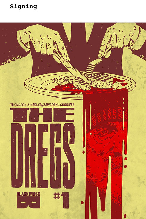The Dregs #1-4 (signed)