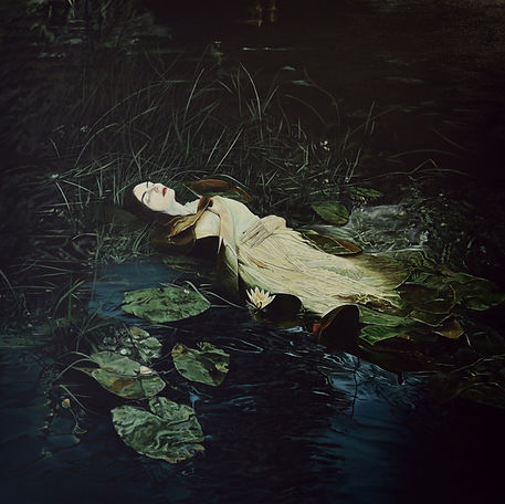 Ophelia, 2020 Acrylic on canvas 100 x 10