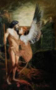 Enigma, 2020  Acrylic on canvas  120 x 7