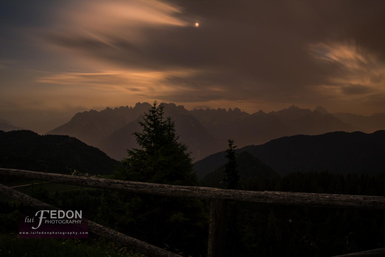 Rif.Ciareido night panorama