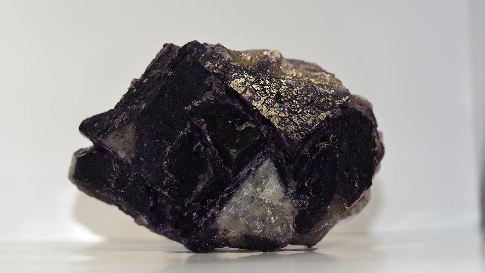 Purple Cubic Fluorite