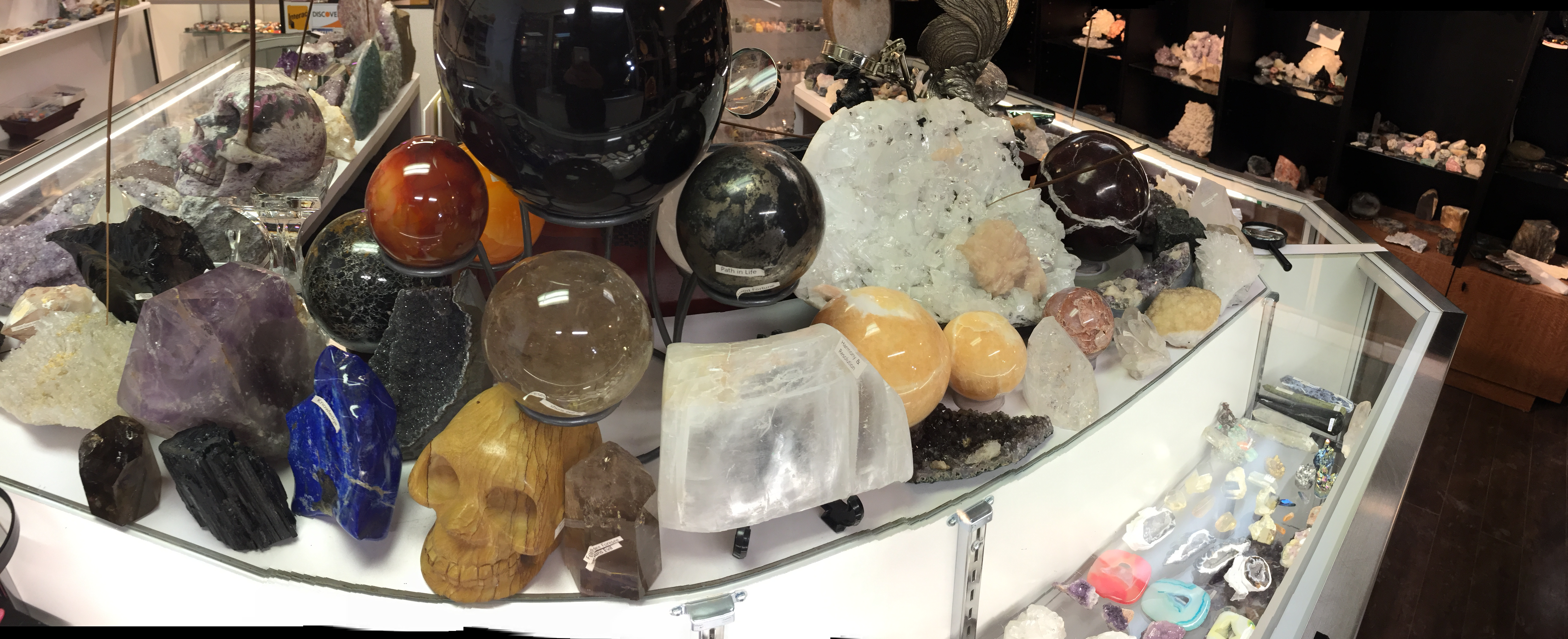 healing tools and spheres