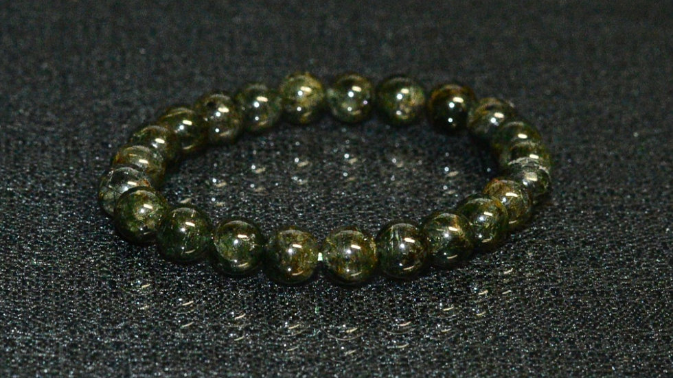 Green Rutile Quartz Bracelet