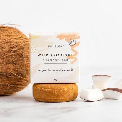 Wild Coconut Shampoo Bar