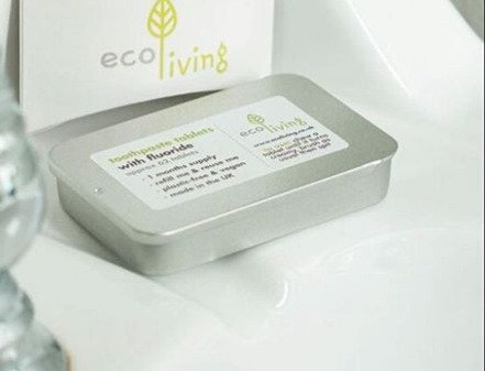 Toothpaste Tablets - With Refillable Tin