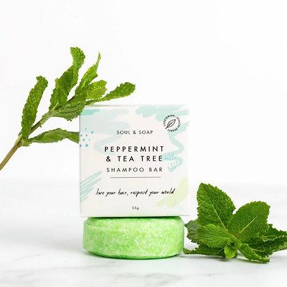 Peppermint & Tea Tree Shampoo Bar