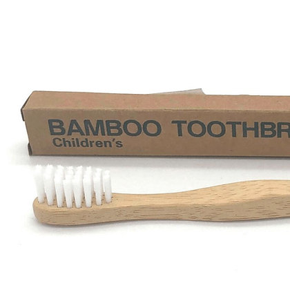 Bamboo Toothbrush Kids