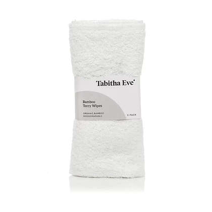Bamboo Terry Wipes