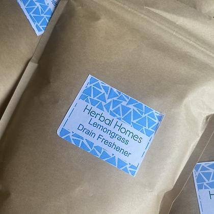 Lemongrass Drain Freshener - Herbal Homes