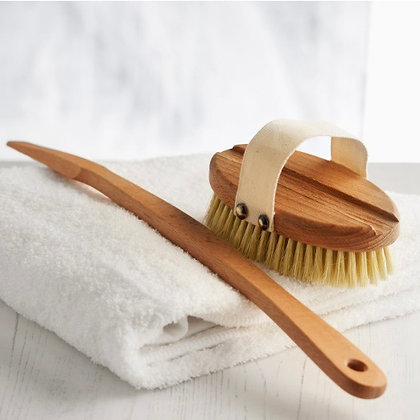 Wooden Body Brush with a Replacement Head