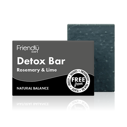 Detox Bar - Charcoal & Lime Soap