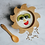Thumbnail: Baby Bamboo Weaning Bowl and Spoon Set - You Are My Sunshine