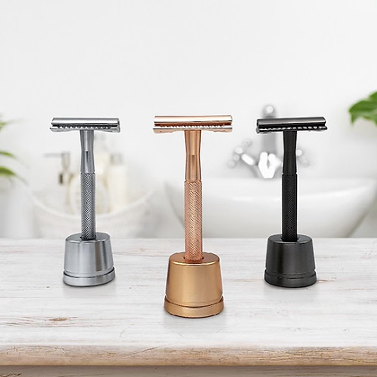 Double Edge Safety Razor with Stand