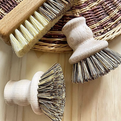 Wooden Pot Brush