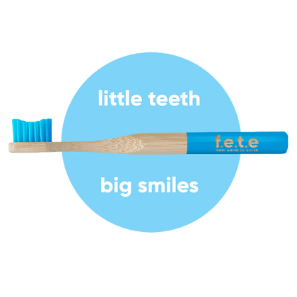 Children's Bamboo Toothbrush - Choose Your Colour!