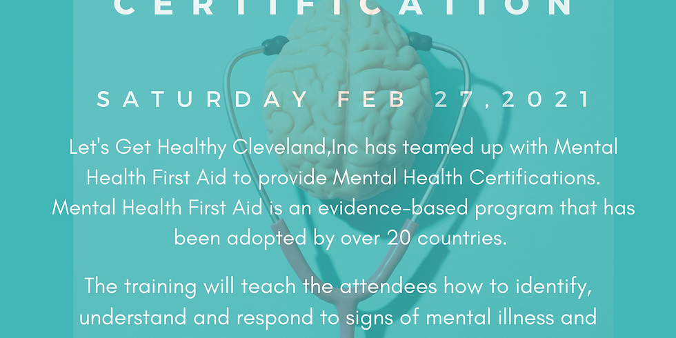 Mental Health Certification