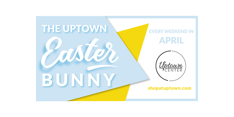 The Easter Bunny at Uptown