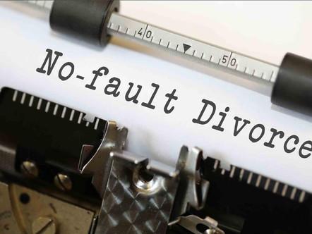 No Fault Divorce