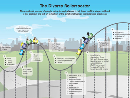 Divorce Rollercoaster