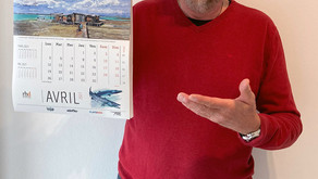 Order your 2021 water colors wall calendar