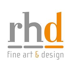 RHD fine art & design logo