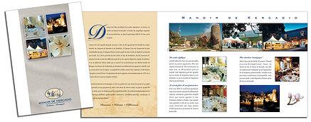Hotel brochure design by Roland Henrion