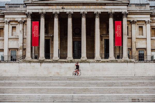 Deserted National Gallery