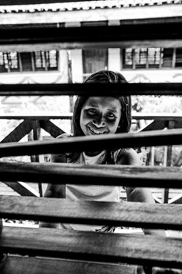 Sorriso pela janela