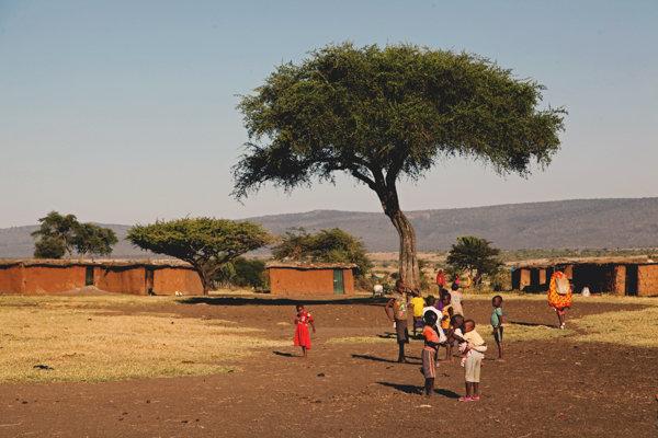 O vilarejo Massai