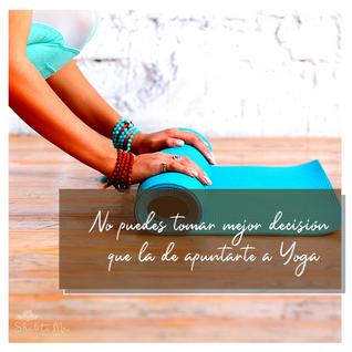 Me apunto a Yoga, pero ¿a qué Yoga?