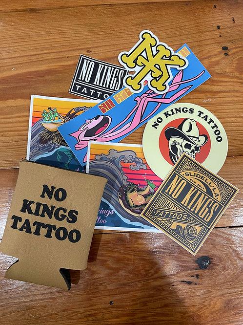 Koozie & Sticker pack