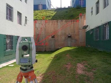 monitoramento topografico de estruturas