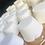 Thumbnail: 6 pastilles de douche eucalyptus et menthol dans un sac de cotton