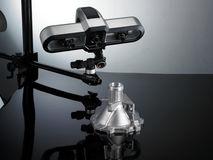 Industrial 3D scanner, 삼차원 스캐너, Solutionix Rexcan series, 정밀스캔, precise scan, 10 micron